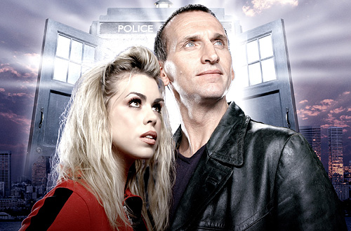 Christopher Eccleston and Rose